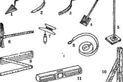 Инструменты для выравнивания фундаментов
