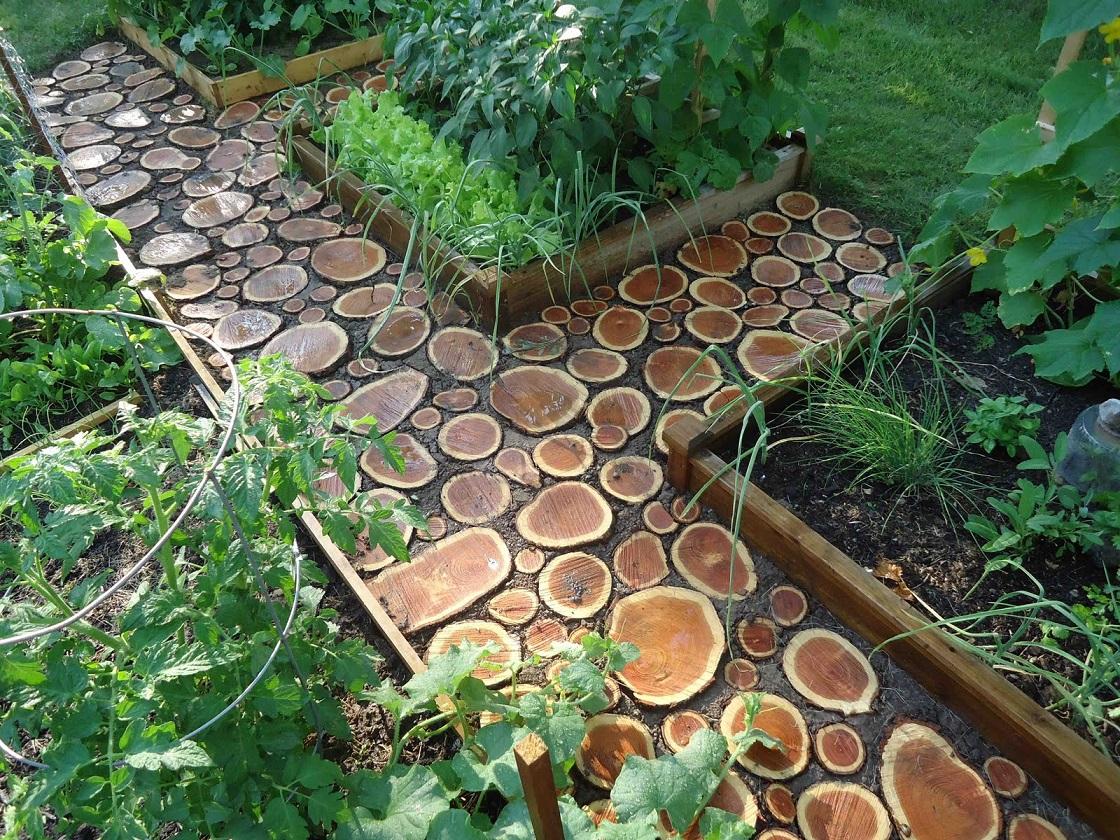 Дорожки на даче в саду своими руками фото - несколько 35