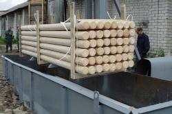 Пропитка древесины огнезащитным составом заводским способом