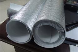 Теплоизоляционный материал с металлическим покрытием