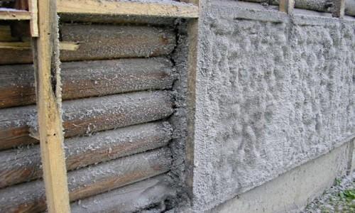 Теплоизоляция дома из бревна