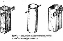 Трубы- опалубки