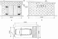 Проектирование гаража