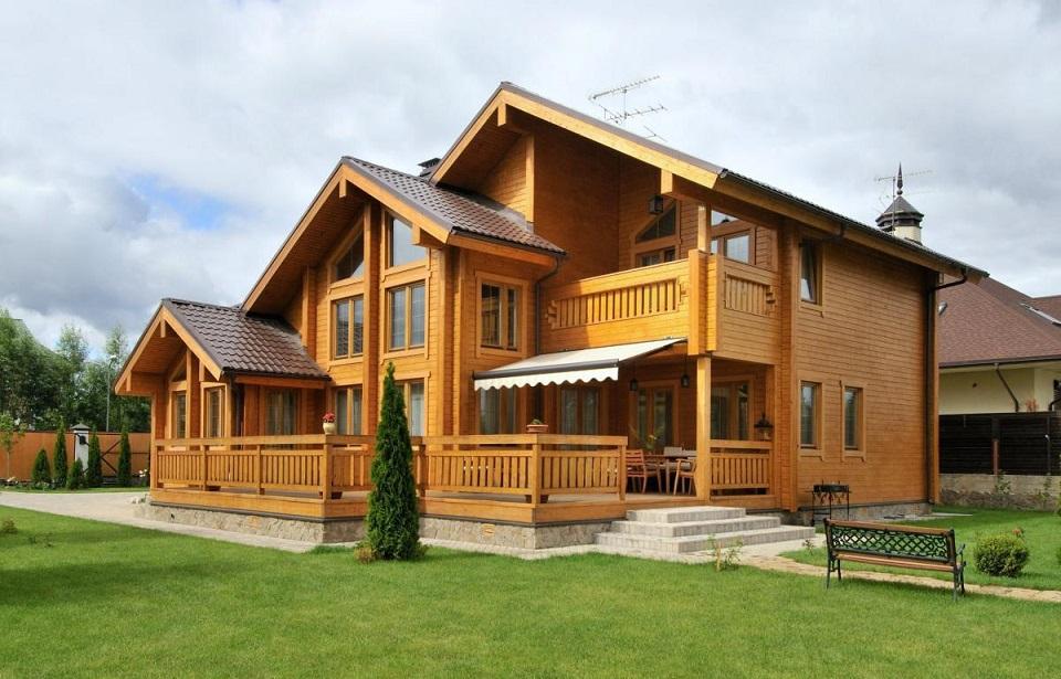Теплый дом из профилированного бруса