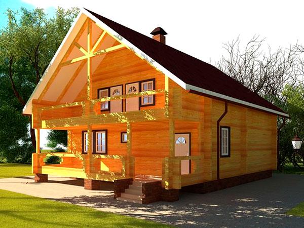 Утепление брусового дома снаружи своими руками