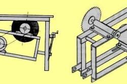 Рисунок 2. Чертеж конструкции с ременной передачей