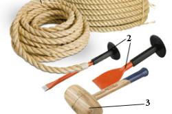 Инструменты для конопатки