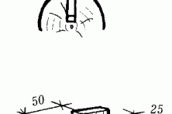 Крепление стен с помощью вставных прямоугольных шипов