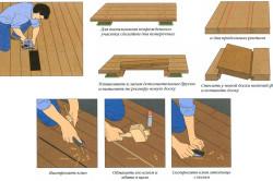 Пример реконструкции деревянного пола в доме