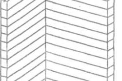 Схема примыкания перегородки к стене