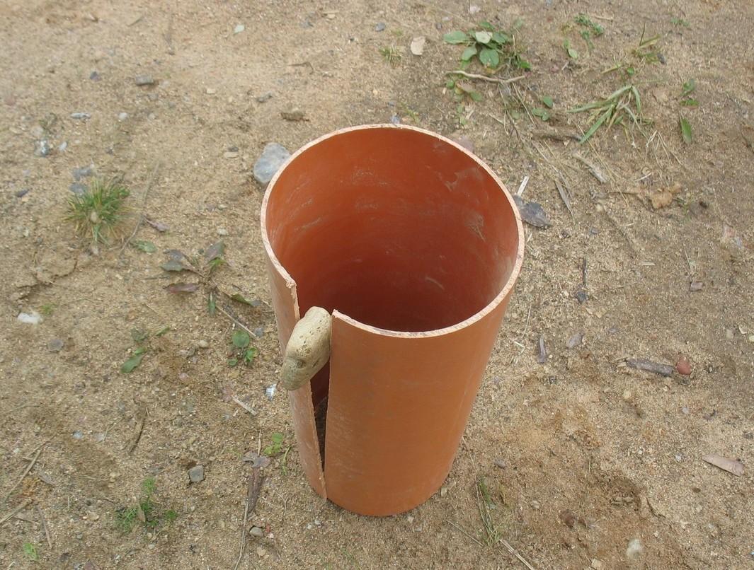 Столбчатый фундамент своими руками из асбестовых труб своими руками