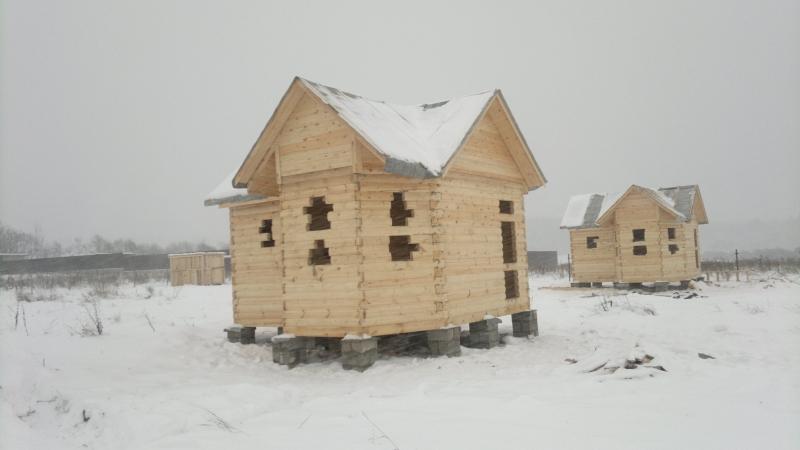 Усадка дома из дерева
