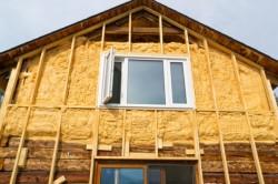 Наружное утепление деревянного дома минеральной ватой