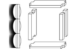 Схема окосячки для пластиковых окон
